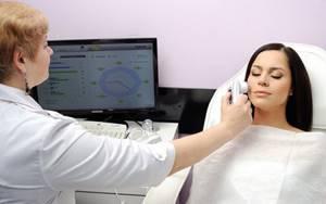 Удаление гемангиомы на лице